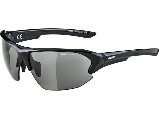 Alpina Lyron HR VL Occhiali, black